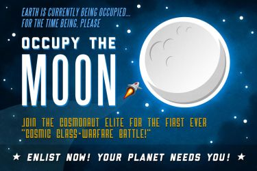 Occupy The Moon by Pinwizkid