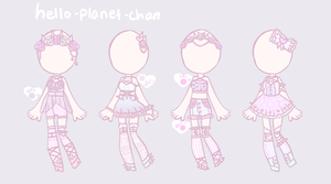 [outfit set] - Lunathyst by hello-planet-chan
