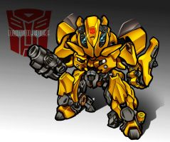 Chibi Bumblebee by MobileSuitGio