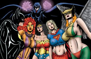 The Girls of D.C. by drawsdirtypictures