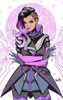 Sketch Sombra by EdgarSandoval