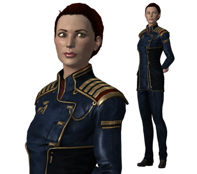 Rear Admiral Hannah Shepard (mother) for XPS by Just-Jasper