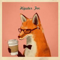HipsterFox by Zoo-chan
