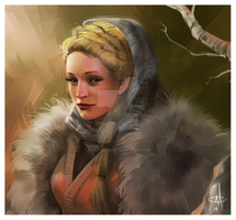 Val Wildling Princess -  Christina T. by mattolsonart