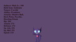 Sableye Profile by Xboxking37