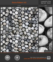 Stone Pattern 4.0 by Sed-rah-Stock