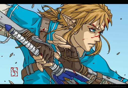 link - BotW by Shiroho-Art