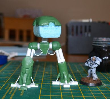 WIP Scratch built Reaver Titan Epic scale by Coconutdawn