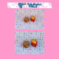 .: BFF Fast Food Charms :. by moofestgirl