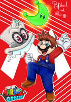 Super Mario Odyssey by almirlima