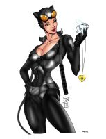 Catwoman by JazzRY Color by ESO2001