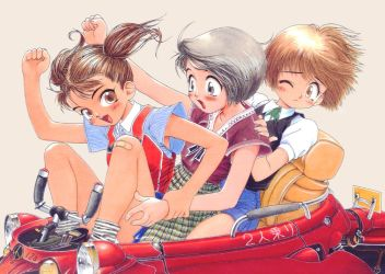 3 on 2-seater by LILFIEinaBOX