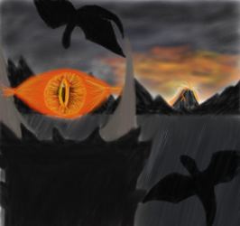 Mordor Finished? by fuushin