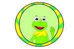 Muppet Button #1: Kermit the Frog by IDontLikeCoffee22