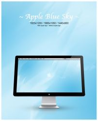 Apple Blue Sky by Law-Concept