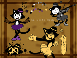 BatIM - Blott the Cat by La-Mishi-Mish