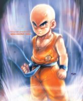 Krillin power up plus video by Mark-Clark-II