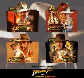 Indiana Jones Movie Collection Folder Icon Pack by Bl4CKSL4YER