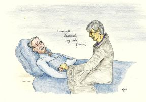 Farewell Leonard, my old friend [Nimoy and Spock] by AloiInTheSky