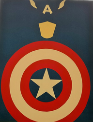 Captain America by Thastygliax