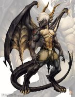 Myanmor comission work by Chaos-Draco