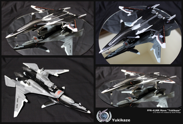 FFR-41MR Mave (Yukikaze) by shadowvfx