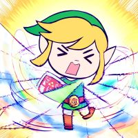 Smash4 Character Countdown #17: Toon Link by PhiphiAuThon