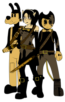 Allison, Tom, and Wally (In-Game) by Gamerboy123456