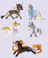 Chibi Adopts | Blessings by queerly