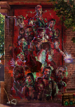 Gamer's Mural by Guzzardi