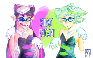 (SPEEDPAINT!) STAY FRESH by DoctorFabulous