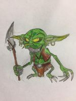 Rayman chronicles redesigned enemy: Goblin  by nathandlneumann