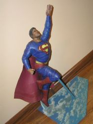 Superman(with cape) by LisciuPL