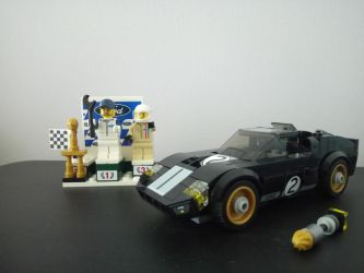 Ford GT40 1966 - Lego Speed Chmpions 75881 by SecretLaser