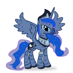 Zony Princesses- Luna by Icaron