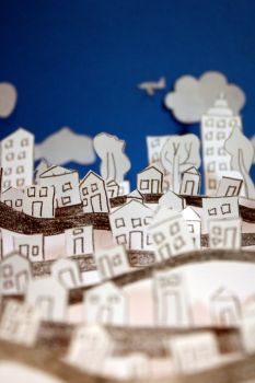 Paper City by blondesRsnart