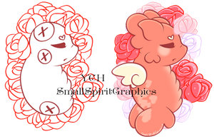 YCH Sleeping Paca In Flowers by SmallSpiritGraphics