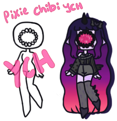 Pixie Chibi YCH [closed] by hello-planet-chan