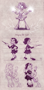 Reboot Magica De Spell design by StasySolitude
