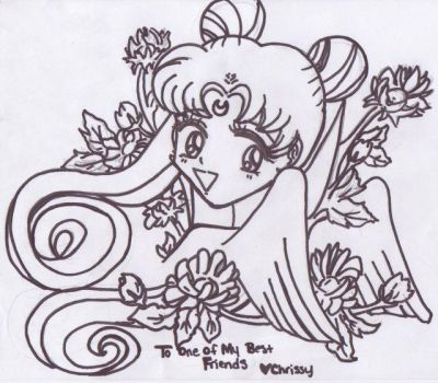 Flower power sailor moon by bobcrazy123
