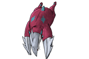 Shiny Excadrill Collab by Makoes