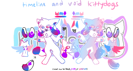 (OUTDATED) kittydog ref timeline and void by kittydogcrystal
