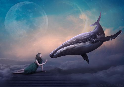 The Woman and the Whale by JohnSilva2017