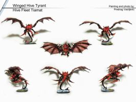 Tyranid Winged Hive Tyrant by Olovni