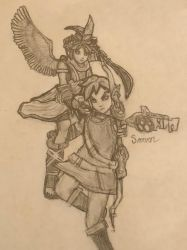 Pit And Link by UniPitDraws