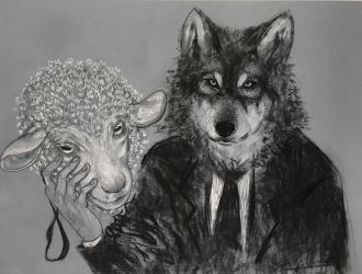 wolf in sheep's clothing by Squiddinator