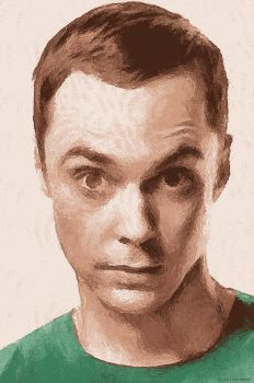 just sheldon cooper by suicidecrew