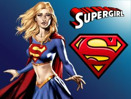 Supergirl CFJ WP by Superman8193