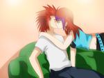 Request : Yale and Axel : by NarutoLover6219
