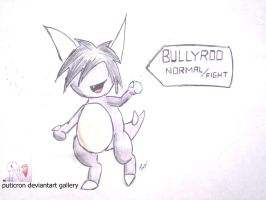 new pokemon bullyroo by puticron